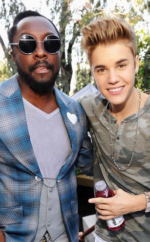 Will.i.am, Justin Bieber