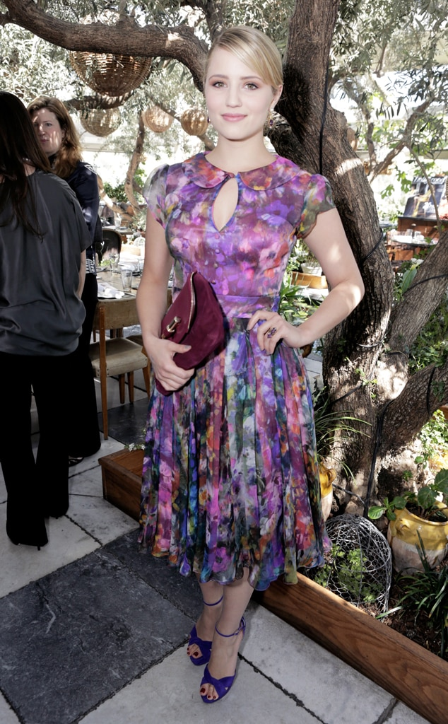 Dianna Agron, 25 Most Powerful Stylists Luncheon, Soho House