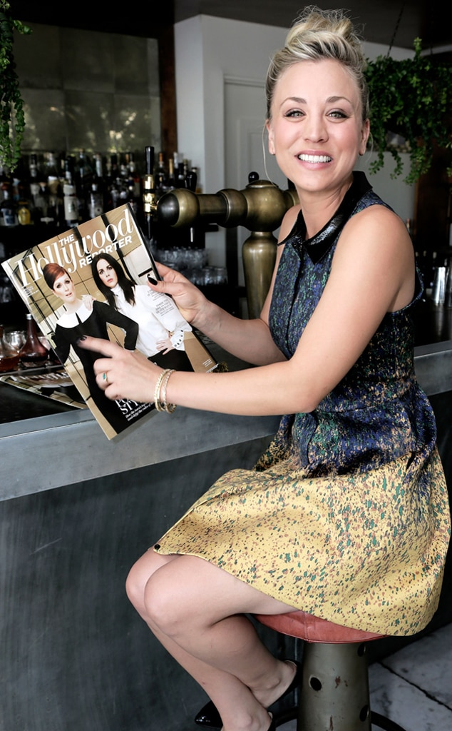 Kaley Cuoco, 25 Most Powerful Stylists Luncheon, Soho House