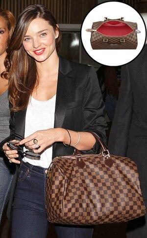 Miranda Kerr, Louis Vuitton Handbag