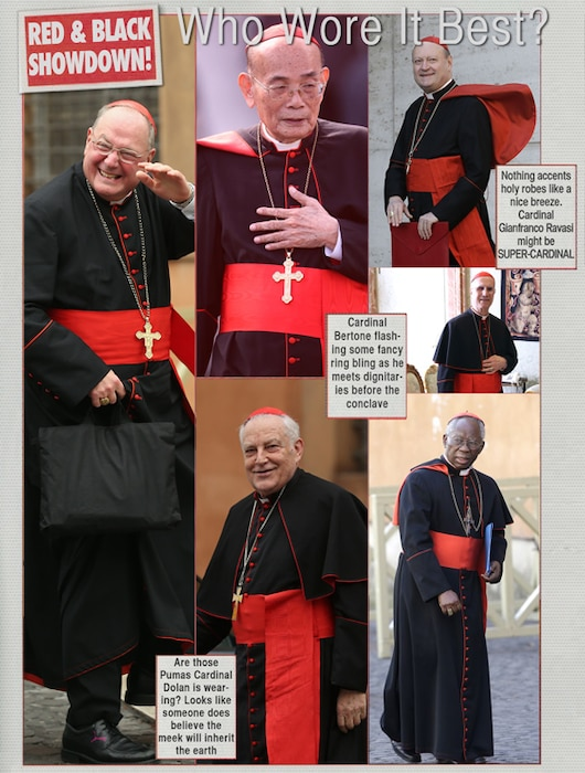 Pope Who wore it best