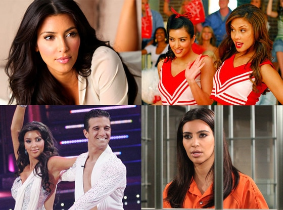 Kim Kardashian TV, Music & Movie Roles