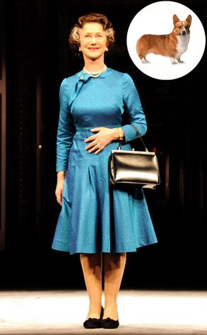 Helen Mirren, The Audience, Corgi