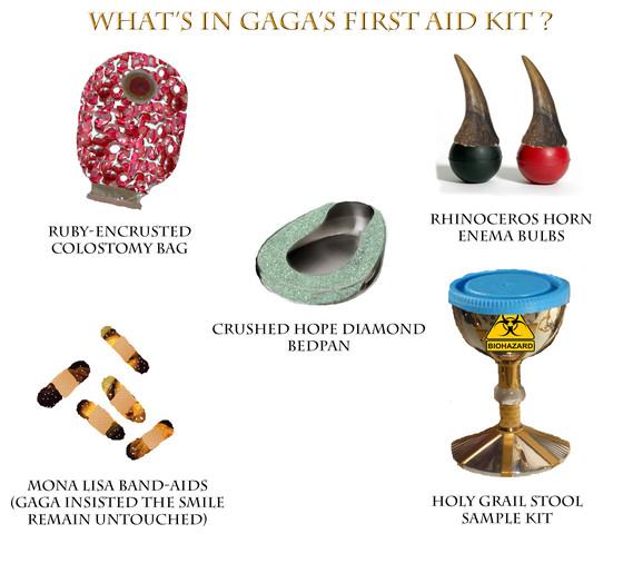 Gaga First Aid Kit