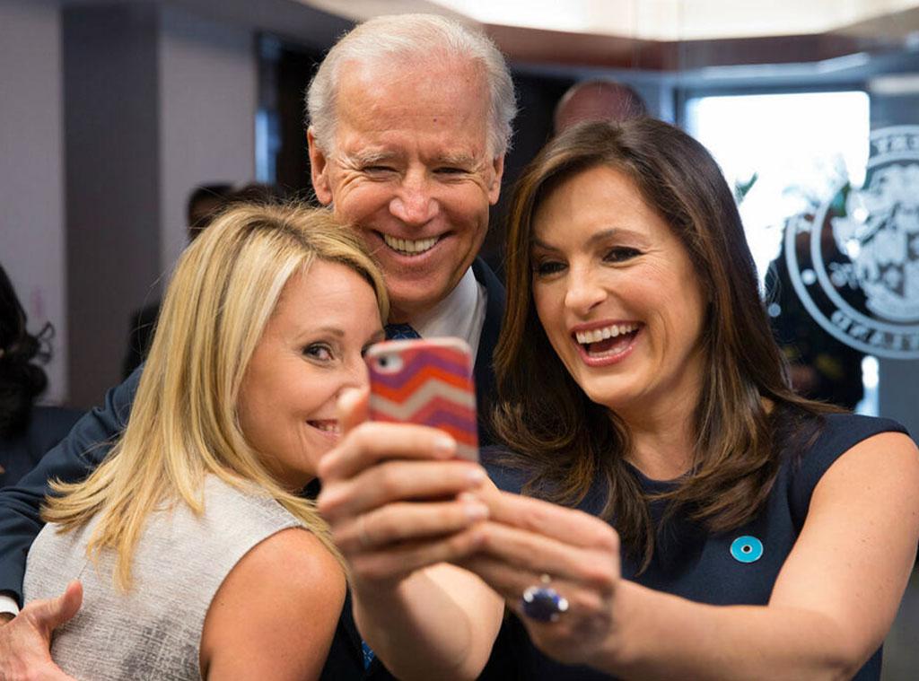 Joe Biden, Mariska Hargitay