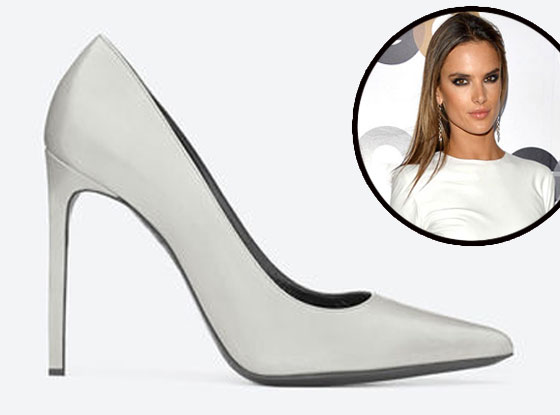 Alessandra Ambrosio, Saint Laurent Pump