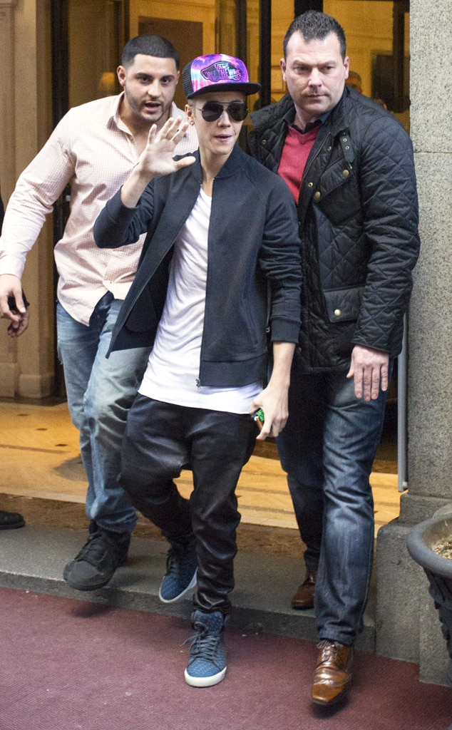 Justin Bieber, Madrid