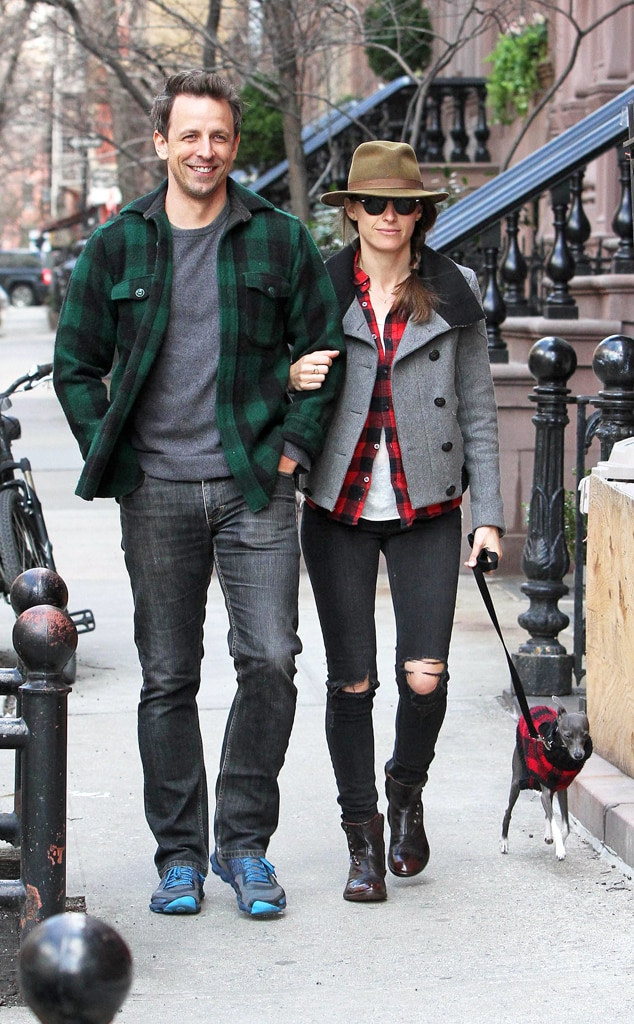 Seth Meyers, Alexli Ashe, Plaid