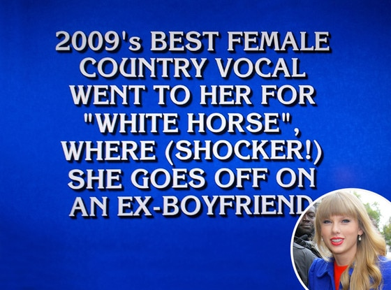 Taylor Swift, Jeopardy