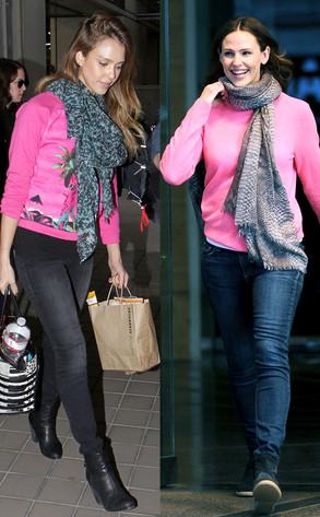 Jessica Alba, Jennifer Garner