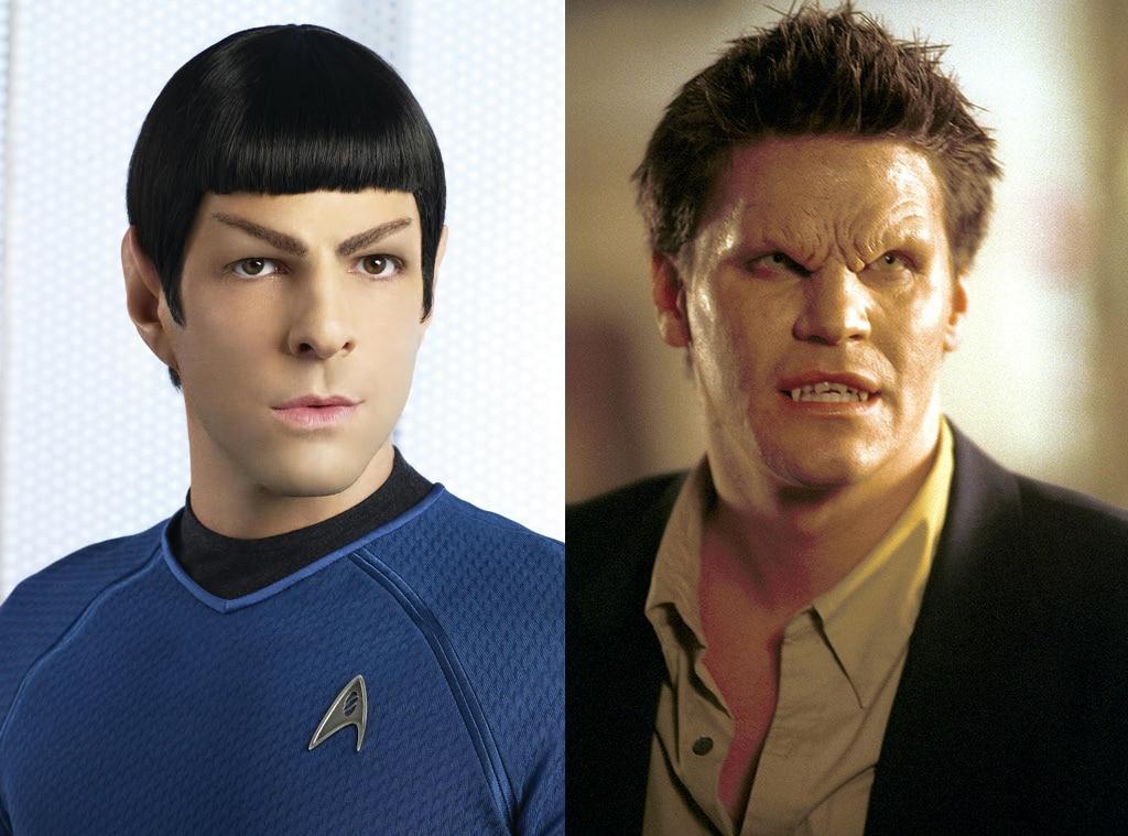 Zachary Quinto, Star Trek, David Boreanaz, Angel