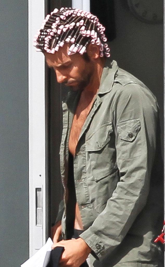 Hair Transformations, Bradley Cooper