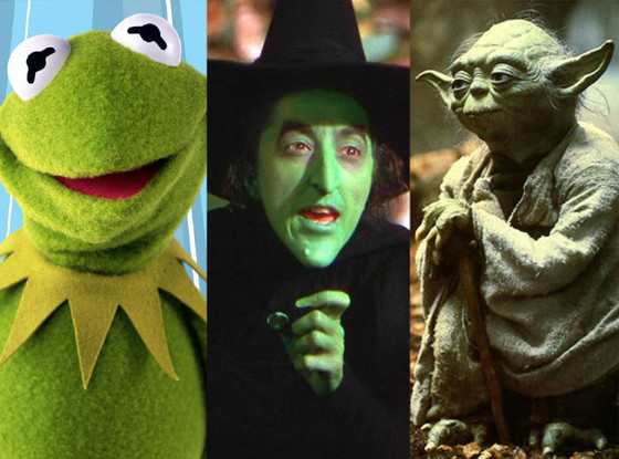 Kermit, Wicked Witch of the West, Yoda