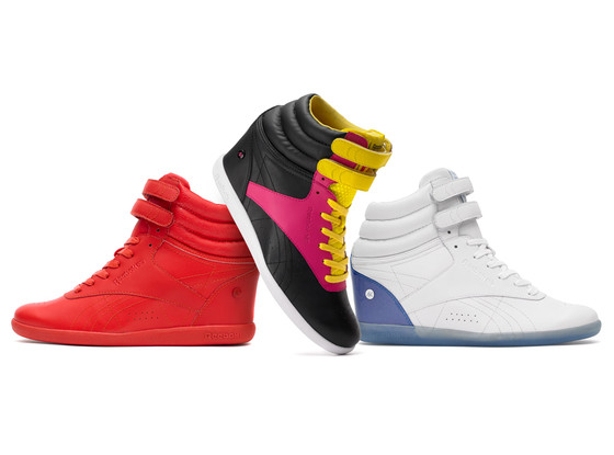 Alicia Keys, Reebook Freestyle Hi Wedge A.Keys Collection
