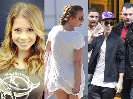 Week in Pics: Bindi Irwin, Britney Spears, Justin Bieber