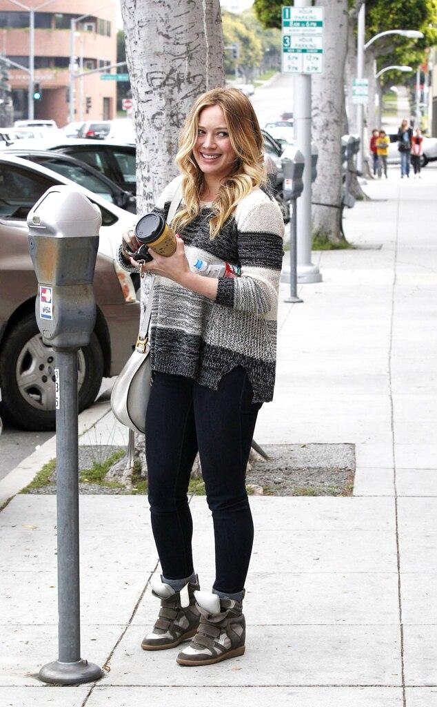 Hilary Duff, Parking Meter, Beverly Hills