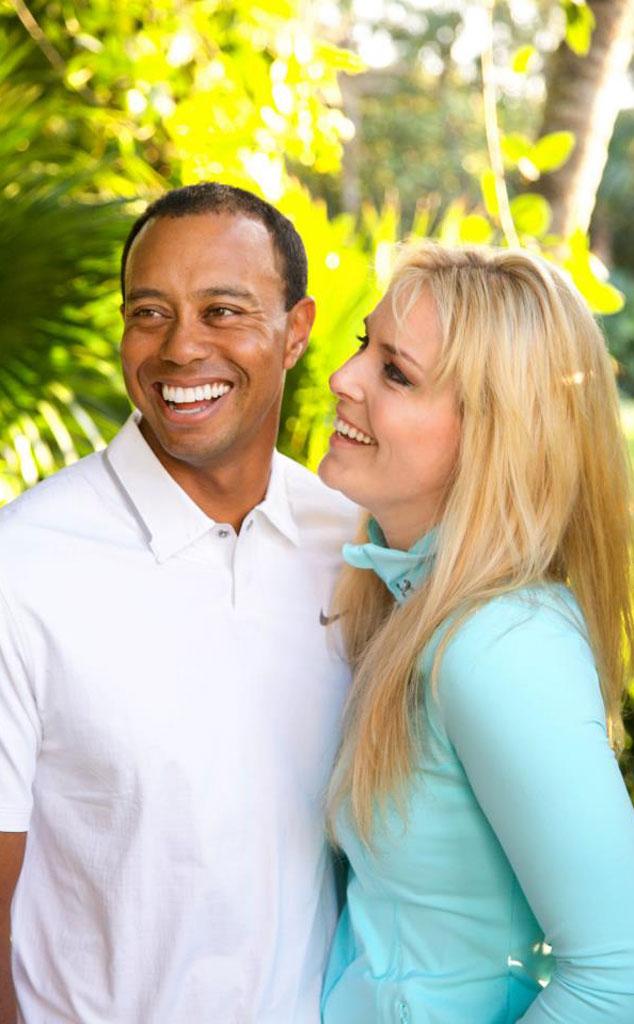 Lindsay Vonn, Tiger Woods