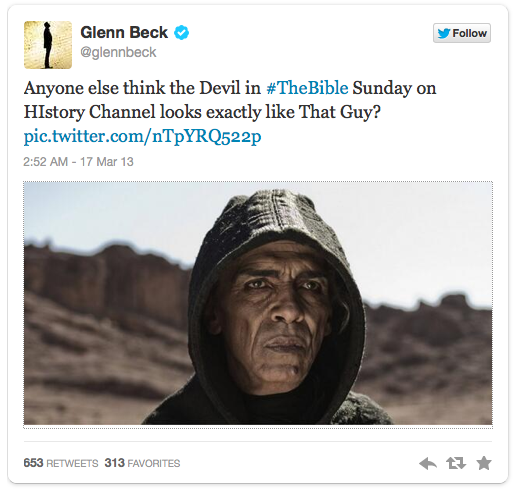 Glenn Beck - Obama's Bible Twin
