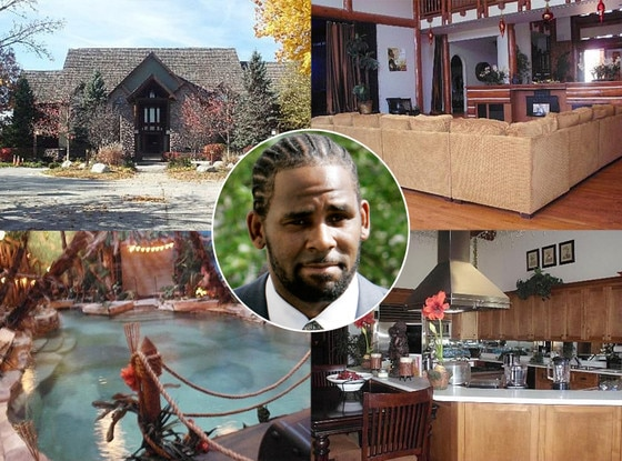 R. Kelly, Home