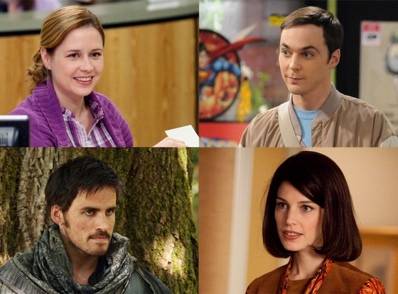 Jenna Fischer, The Office, Colin O'Donohue, Once Upon a Time, Jessica Pare, Mad Men, Big Bang Theory