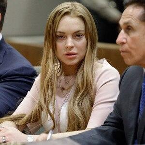 Lindsay Lohan, Mark Heller, Anthony Falangetti