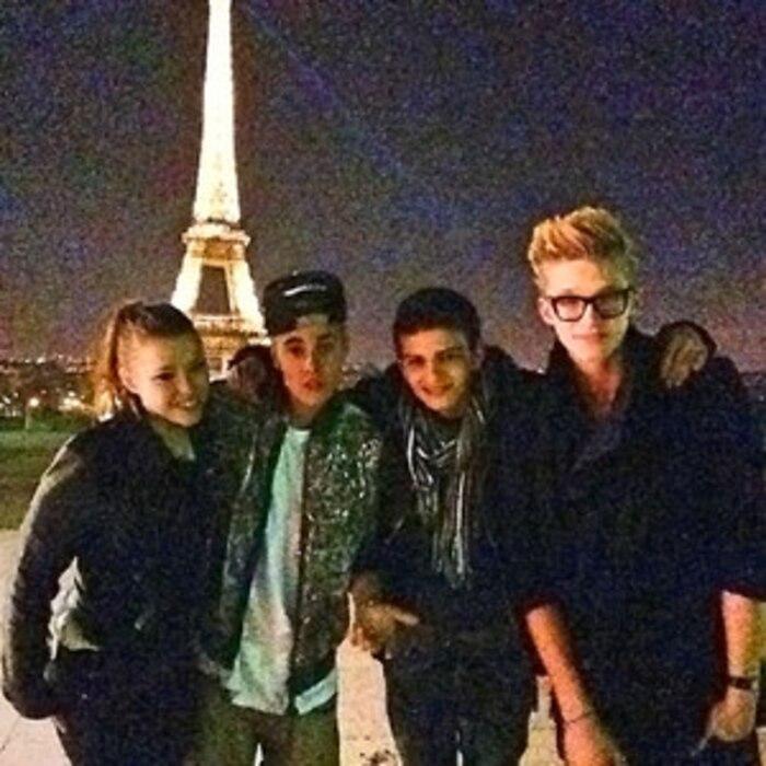 Justin Bieber, Paris, Instagram