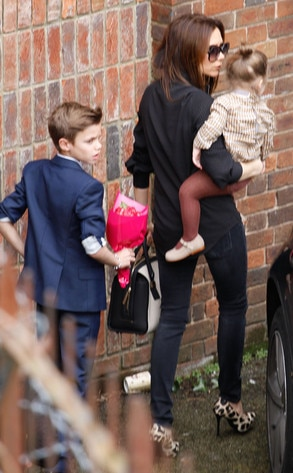 Victoria Beckham, Harper, Romeo