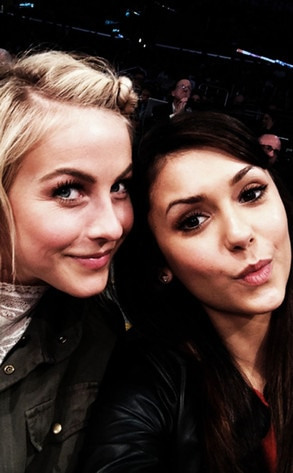 Julianne Hough, Nina Dobrev