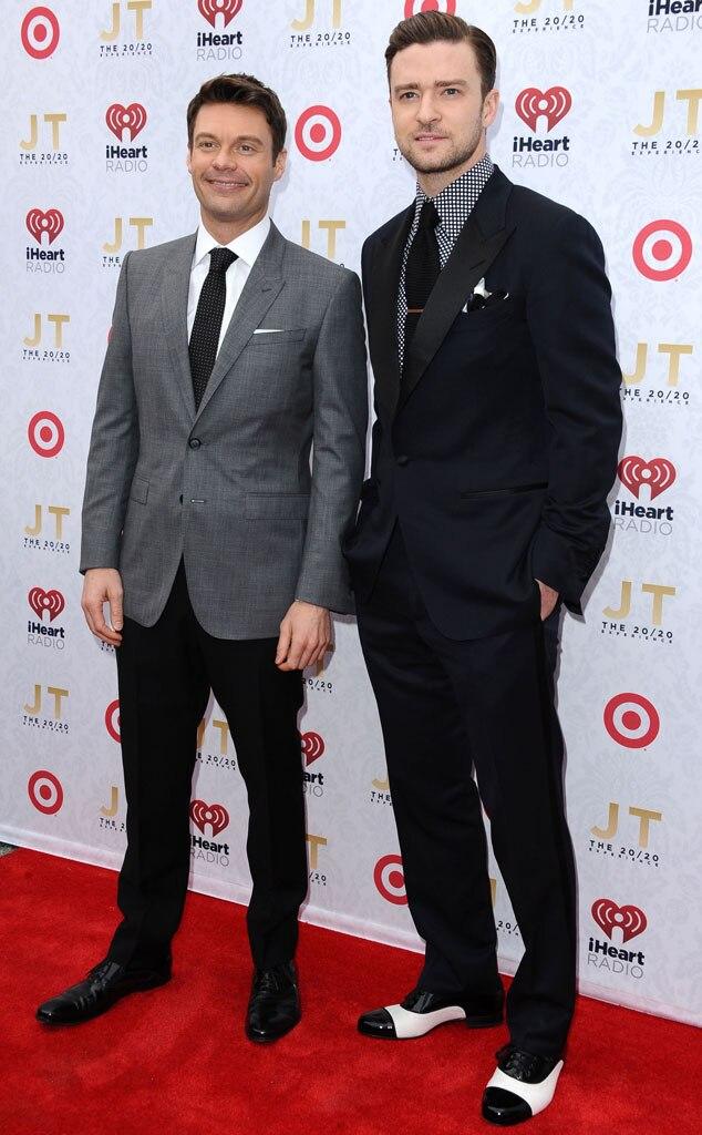 Ryan Seacrest, Justin Timberlake