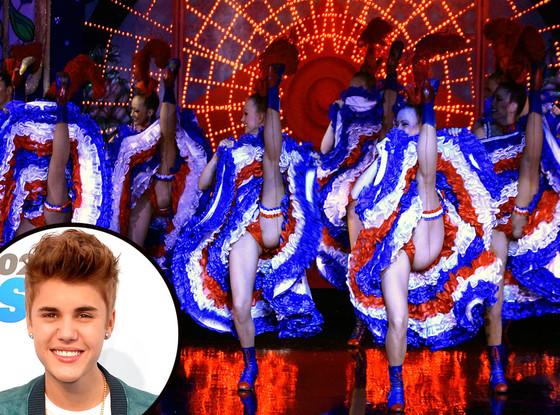 Justin Bieber, Moulin Rouge
