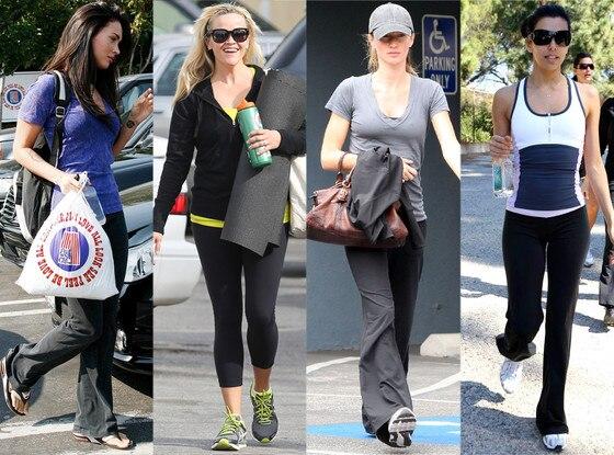 Megan Fox, Reese Witherspoon, Gisele Bundchen, Eva Longoria