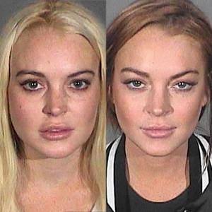 Lindsay Lohan, Mugshots