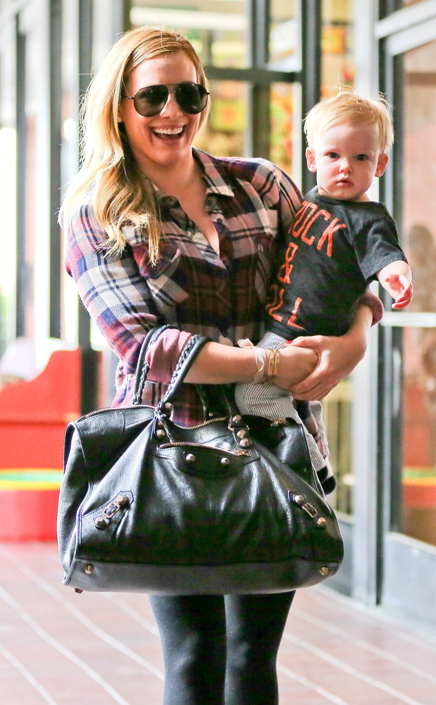 Hilary Duff , Luca Cruz, Birthday