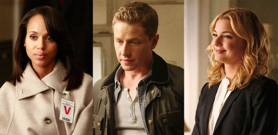 Kerry Washington, Scandal, Josh Dallas, Once Upon a Time, Emily VanCamp, Revenge