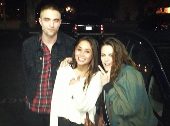 Robert Pattinson, Kristen Stewart, Twit Pic
