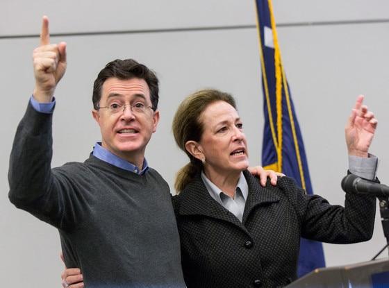 Stephen Colbert, Elizabeth Colbert Busch