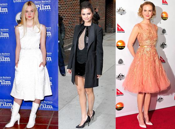 Elle Fanning, Selena Gomez, Nicole Kidman