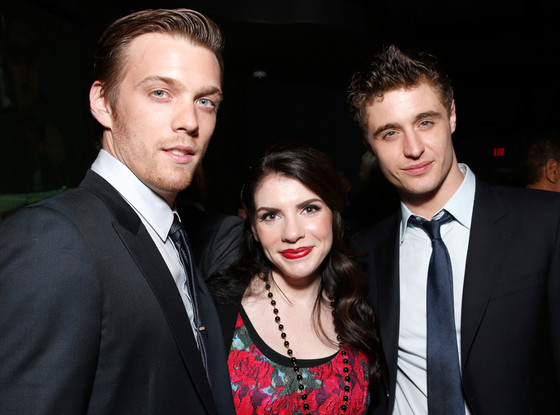 Jake Abel, Stephenie Meyer, Max Irons