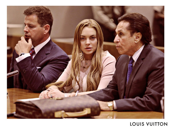Lindsay Lohan, Louis Vuitton