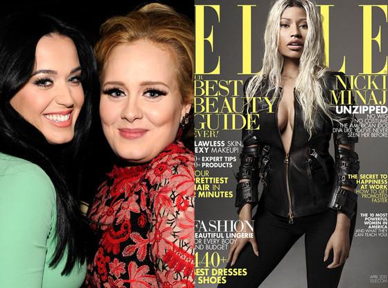Nicki Minaj, Elle Magazine