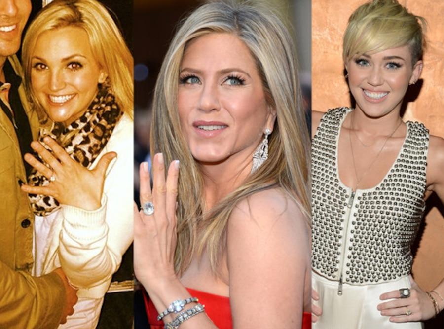 Jamie Lynn Spears, Jennifer Aniston, Miley Cyrus