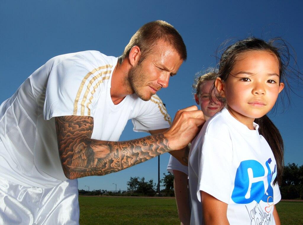 David Beckham, Autograph