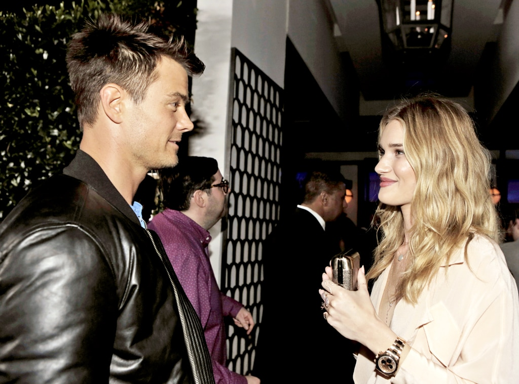 Josh Duhamel, Rose Huntington-Whiteley