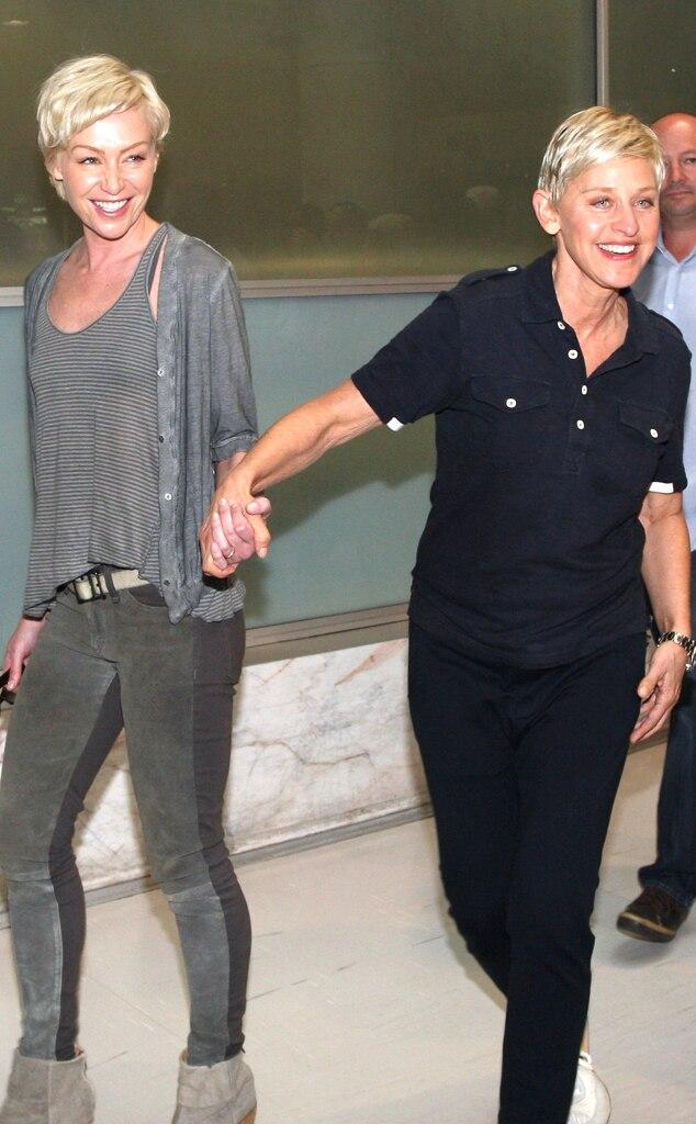 Ellen DeGeneres, Portia de Rossi, Sydney
