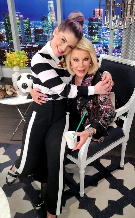 Kelly Osbourne, Joan Rivers, Twit Pic