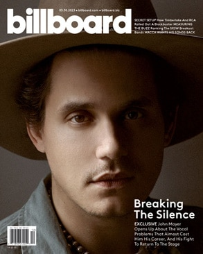 John Mayer, Billboard