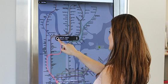NYC Subway Kiosks