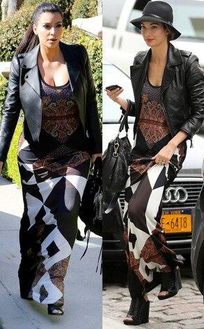Kim Kardashian; Lily Aldridge