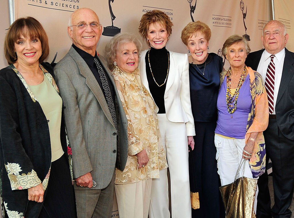 Valerie Harper, Mary Tyler Moore, Cloris Leachman, Georgia Engel, Betty White, Famous Friends