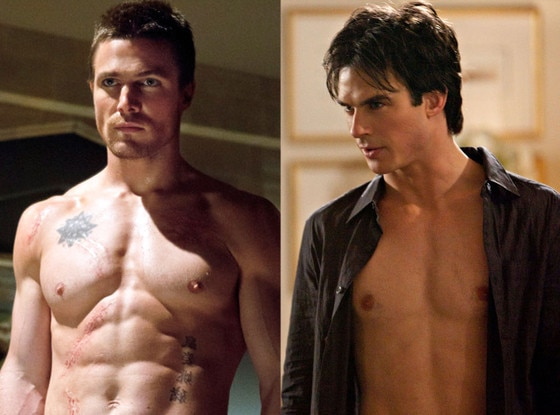 Ian Somerhalder, The Vampire Diaries, Stephen Amell, Arrow